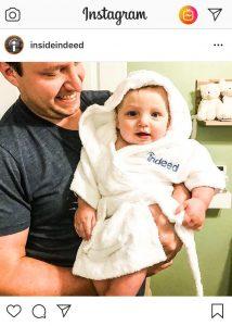 Indeed's Baby bathrobes