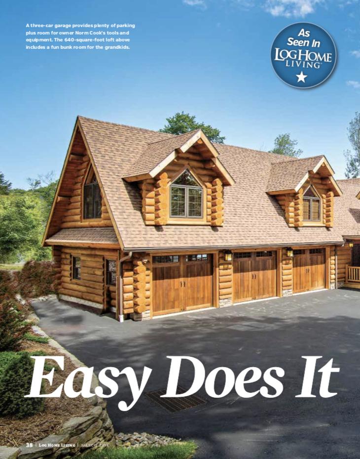 Estemerwalt Log Homes   Log Home Builder   Log Cabin Builder
