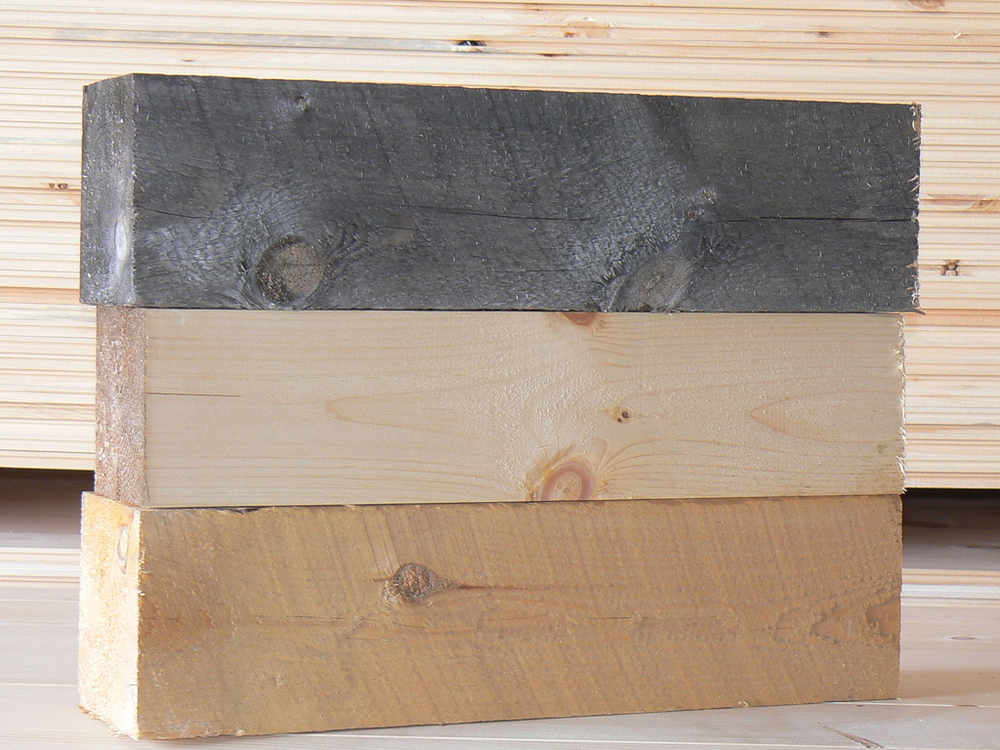 Aged Rough; Surfaced; Aged Green Timbers