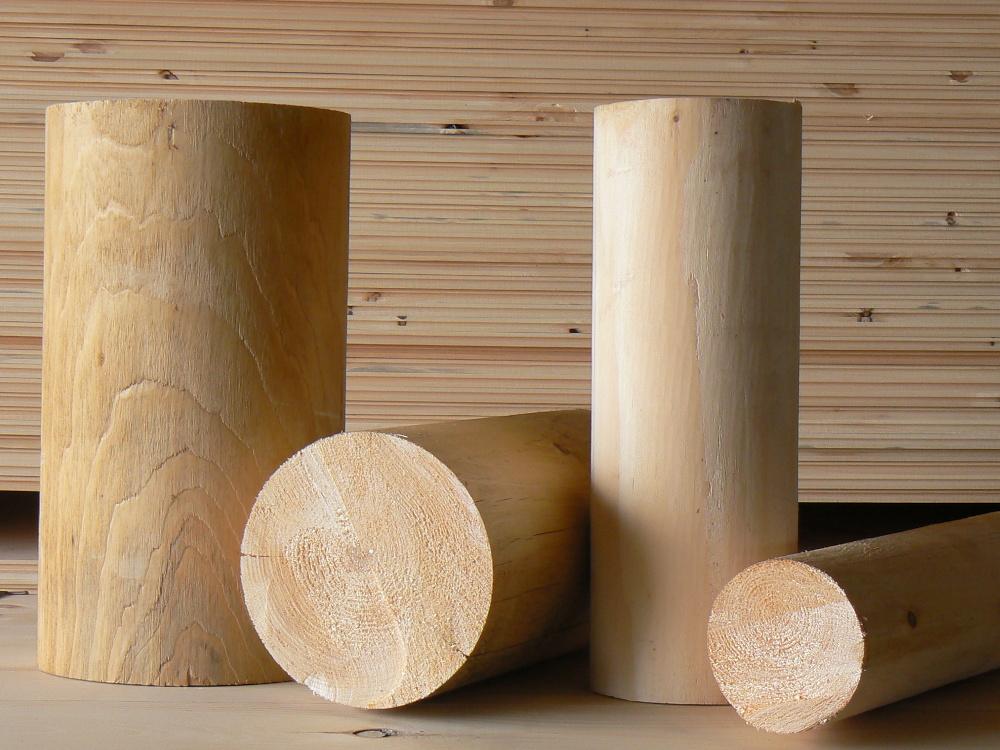 Round Timber Samples