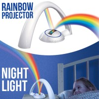 Rainbow Projector Night Light