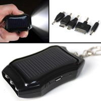 Solar USB Phone Charger & Torch