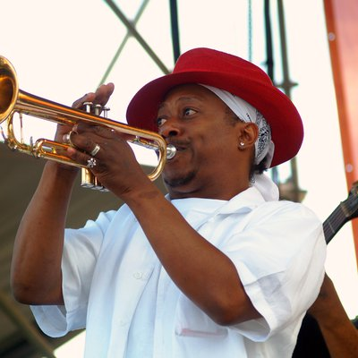 Kermit  JAZZ MUSICIAN New Orleans | Photo Credit Jay Combe