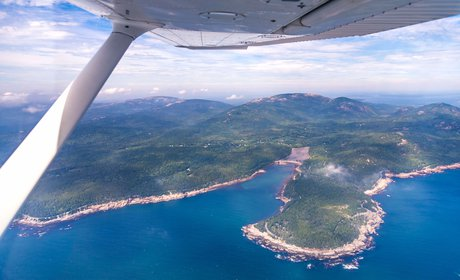 Acadia National Park Flightseeing Tour