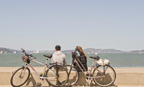 * Bike San Francisco to Sausalito