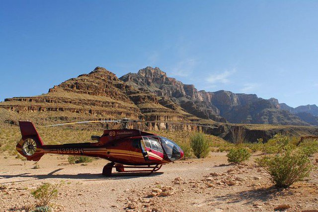 Small Group Helicopter Tour over Grand Canyon South Rim