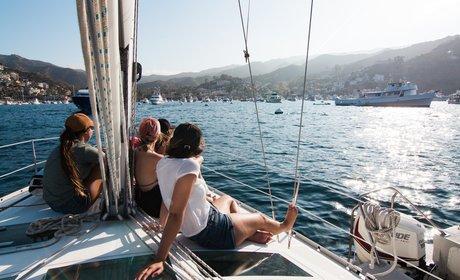 * Full-Day Escape to Catalina Island