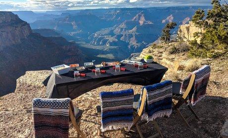 Custom Grand Canyon North Rim Glamp Camp