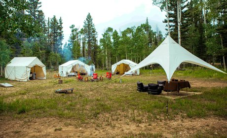 Custom Yellowstone Glamp Camp