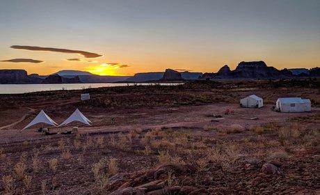 Custom Lake Powell Glamp Camp