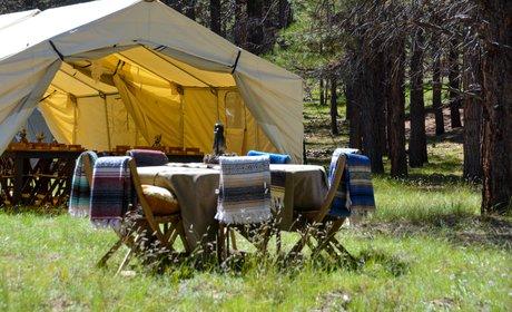 Custom Yellowstone Glamp Camp