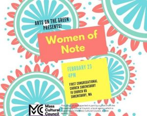 Arts on the Green present Women of Note: A capella choir