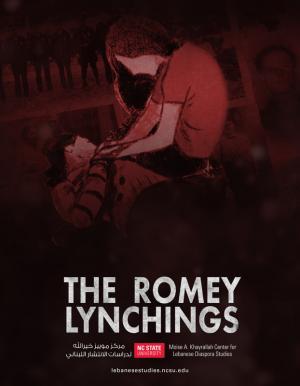 THE ROMEY LYNCHINGS