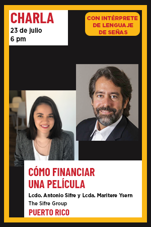 23 de julio: Charla con The Sifre Group