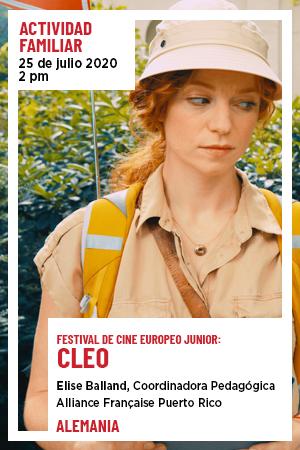25 de julio: Actividad Familiar - Cleo