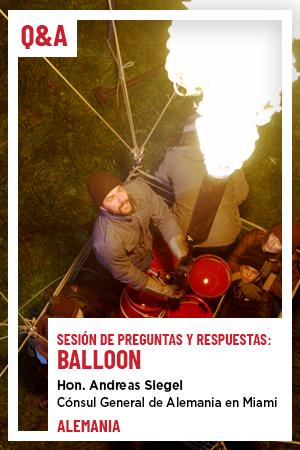 21 de julio: Q&A - Balloon