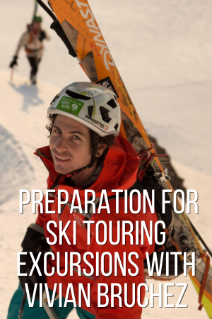 The steps to prepare for touring excursions with Vivian Bruchez