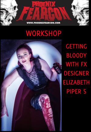 Workshop getting bloody with FX designer Elizabeth Piper S.