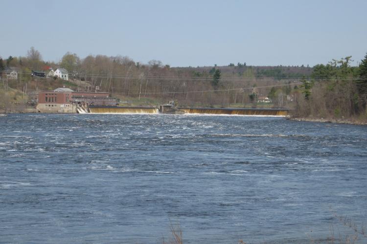 Veazie Dam Prior to Removal