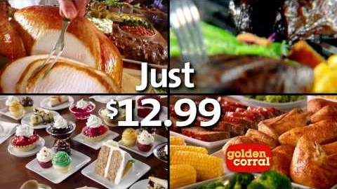 Golden Corral Thanksgiving Dinner & Breakfast Buffet