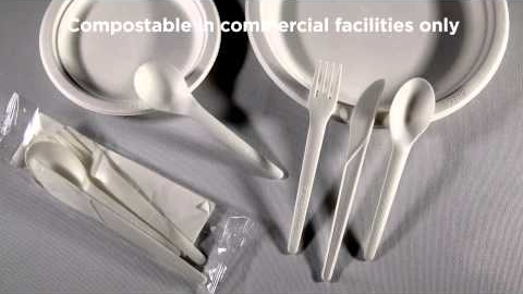 Eco-Products® Plantware™ and Plant Starch Cutlery