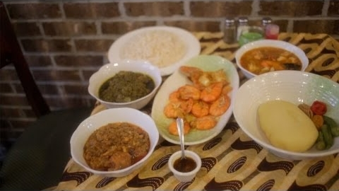 Liberian Cuisine at Maima's