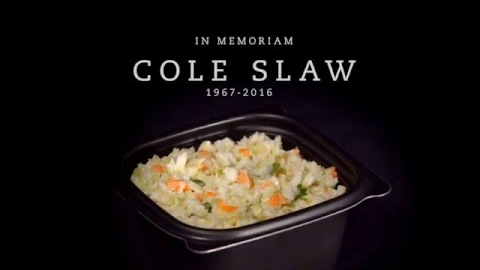 Farewell, Chick-fil-A Cole Slaw
