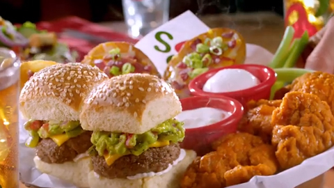 Chili's Nacho and Guacamole Big Mouth Bites