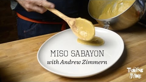 Miso Sabayon with Andrew Zimmern