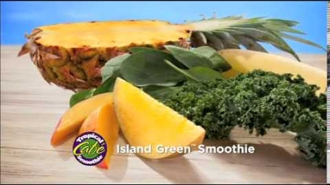 Tropical Smoothie Cafe's Veggie Smoothies