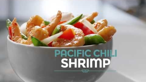 Pacific Chili Shrimp at Panda Express