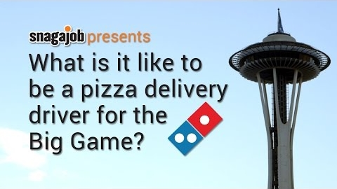 What's It Like to Deliver Pizza for the Big Game?