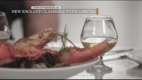 Pairing Food with Beer: New England Clambake with Lobster