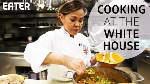 How The White House Chef Does Curry (Turnip For What!)