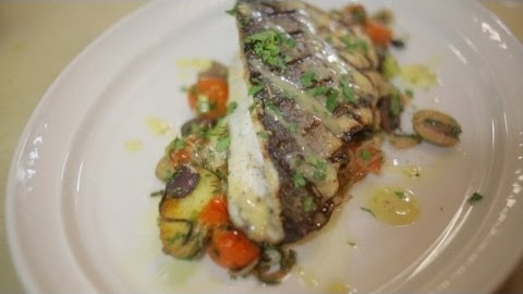 M.P. Taverna Presents Branzino