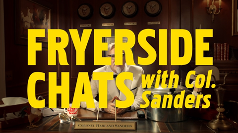KFC's Fryerside Chats with Colonel Sanders