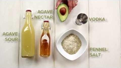 CPK's Avocado Cocktail