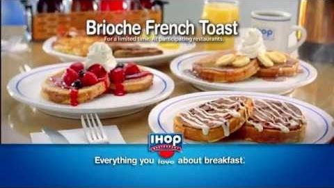 IHOP's Cinnamon Swirl Brioche French Toast