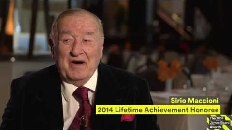 2014 James Beard Awards Recognize Sirio Maccioni