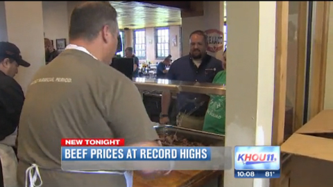 Beef Prices Skyrocketing This Summer