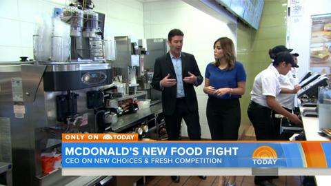 McDonald's CEO Talks About Healthier Menu Options