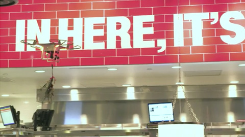 TGI Fridays Introduces Mobile Mistletoe Drones