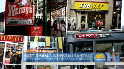New Salt Warnings on NYC Menus Prove Controversial