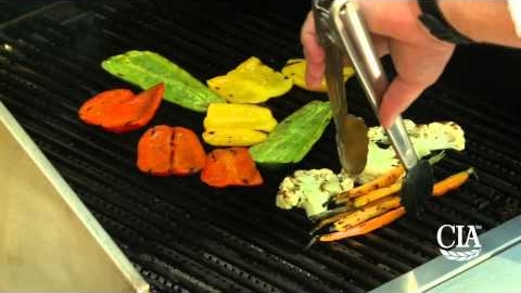 Grilling Vegetables with the CIA