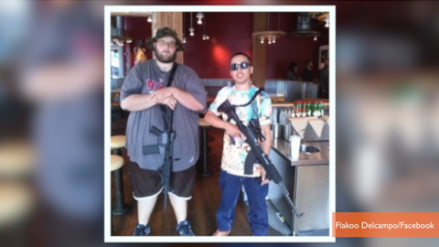 Sonic, Chili's Say No Guns Inside