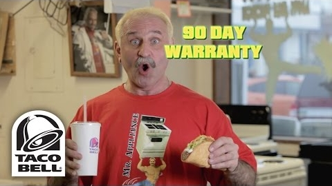 Taco Bell's Quirky Quesalupa Ads for the Big Game