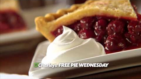 O'Charley's Free Pie Wednesday