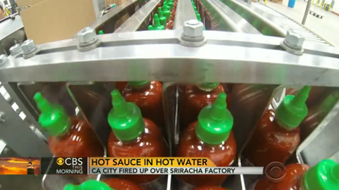 Behind the Scenes at the New Sriracha Plant