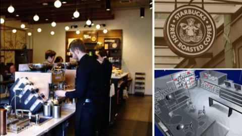 Five Design Tricks from Starbucks