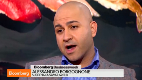 Talking Sushi with Alessandro Borgognone
